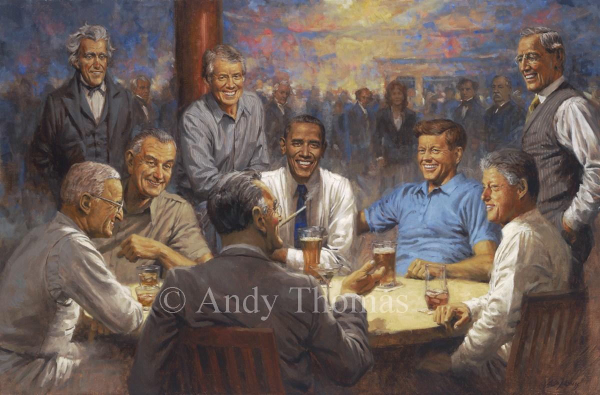 Andy Thomas, The Democratic Club